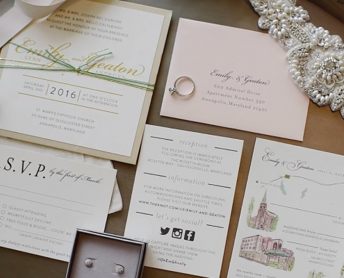 Printed Wedding Stationery